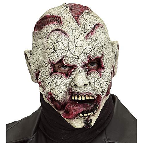 WIDMANN Horror Payaso Latex Mascara de Halloween Carnaval Fiestas Trajes , color/modelo surtido