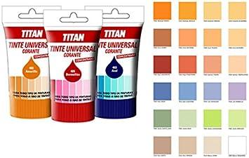 TITAN - Tinte Universal Naranja Titan 50 Ml