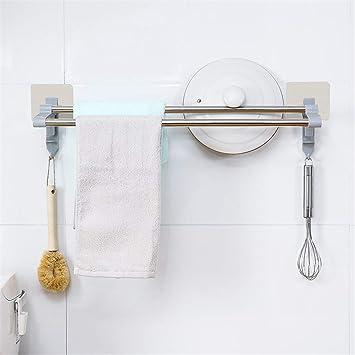 lileifeng toallero Doble de Acero Inoxidable baño Resistente ...