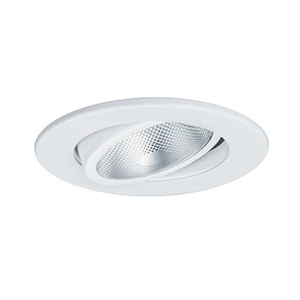 Jesco lighting tm603wh 6 inch aperture line voltage trim recessed light adjustable gimbal ring