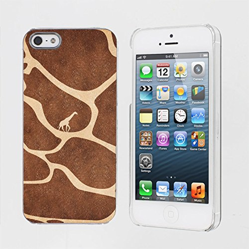 Mobiflare, Slim Clip-on Phone Case, for [iPhone 5/5S] - Giraffe Journey