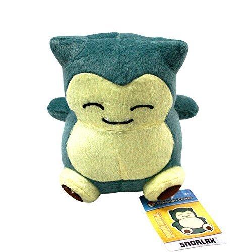 Anime Cute Pocket Monster Pokemon Snorlax Stuffed Plush Doll Animal Figure (Cute Snorlax Costume)
