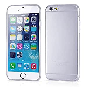 Unique 4.7 Inch Ultra-Thin 0.3Mm Clear Rubber Soft Tpu Back Cover Case For Iphone 6 4.7 Inch Snow Clear-Clear