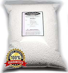 Polypropylene Plastic Pellets, 10 Lbs in a Heavy Duty Reclosable Bag, Doll, Blanket, Hacky Sacks, Corn Hole Filler, & Polishing Media. Made in the U.S.A