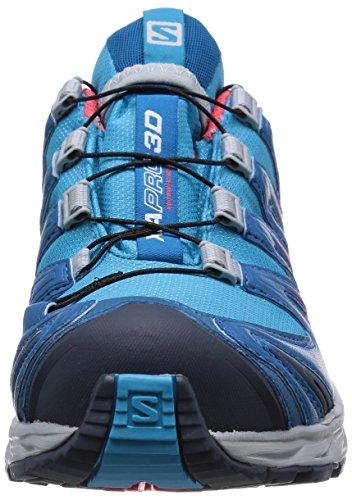 papaya Bleu darkness De 3d Blue Femme Et Trekking Chaussures Blau Xa boss Pro b Gtx Randonnée Salomon Blue 46O1qavwUc