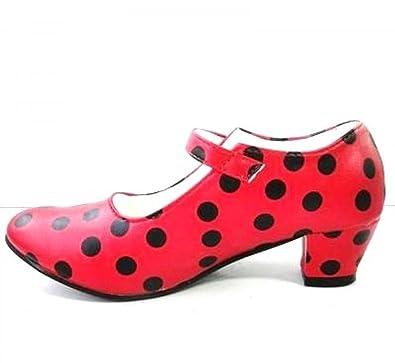 30a575eb3c4 Chaussures Escarpin Ballerine de Danse Flamenco Enfant  Amazon.fr ...