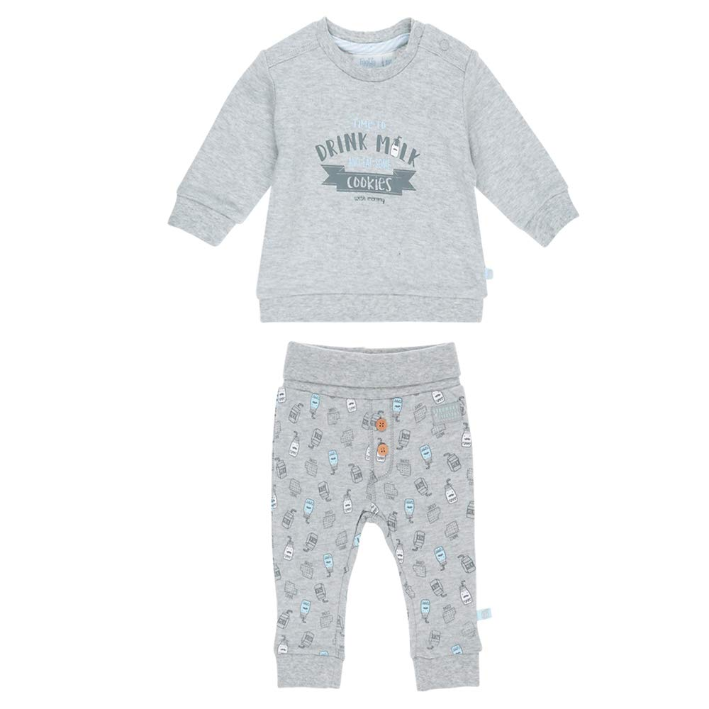 Feetje Baby-Jungen Zweiteiliger Sweat-Anzug Drink Milk