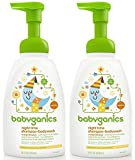 Babyganics Shampoo And Body Wash Night Time Orange Blossom, 16 Ounce, 2 Pack