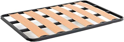 Bonitex - Somier 150x190cm (sin patas): Balda Ancha, Tubo de Acero 40x30mm, Refuerzo Central, Láminas de chopo-flex
