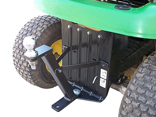 John Deere Accessories - Great Day - Lawn Pro Hi-Hitch - Lawnmower Towing Hitch