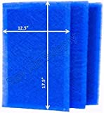 RAYAIR SUPPLY 14x20 Green Homes America Air Cleaner Replacement Filter Pads 14x20 Refills (3 Pack) Blue
