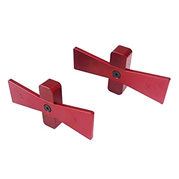 Power Tool Accessories Flameer Dovetail Marker Aluminum Dovetail Guide 1:5 & 1:8 for DIY Wood Joint Gauge
