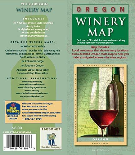 - Oregon Winery Map