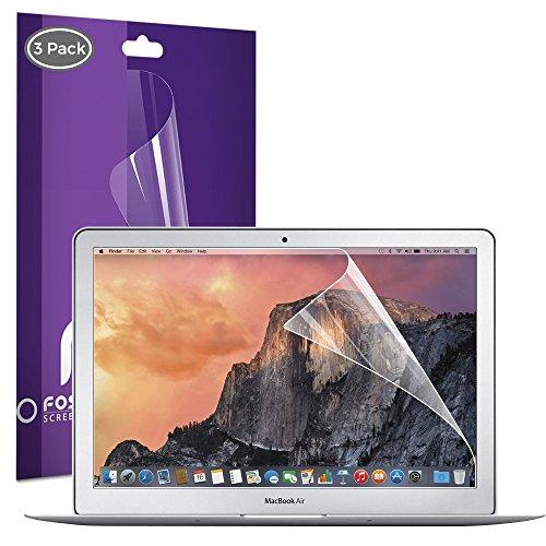 Macbook Air 13 inch Screen Protector (3 Pack) Fosmon HD Clear Screen Shield for Macbook Air LCD - 13.3 inch (16:10 Widescreen)