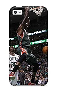 milwaukee bucks nba basketball (32) NBA Sports & Colleges colorful iPhone 5c cases 7986345K453041069