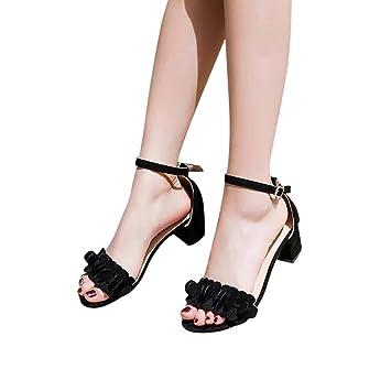 7051fd90b Zapatos de tacón mujer ❤ Amlaiworld Sandalias de tacón alto para mujer  primavera verano Sandalias ...