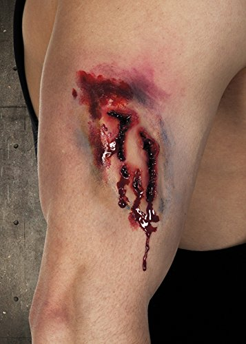 Zombie Bite Mark Fake Scar Latex