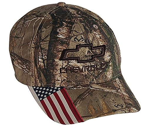 Chevrolet Realtree Camo Hat  One - Baseball Cap Chevy