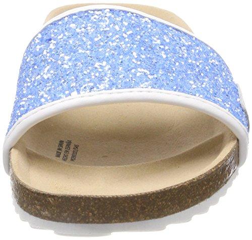 Bleu Bio Bright Pepe Blue Mules Fille Glitters Jeans S8a7q8