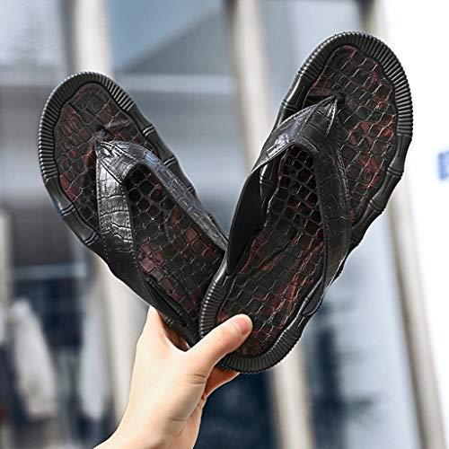 Piscine Plage Noir Tongs amp; De Mcys Homme Chaussures z4xYwqzUP