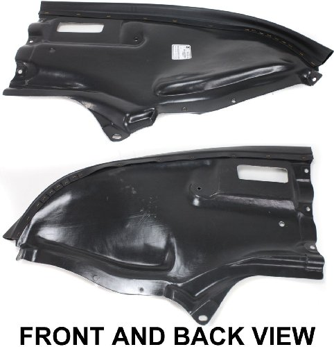 OE Replacement Mercedes-Benz Driver Side Lower Engine Cover (Partslink Number ()