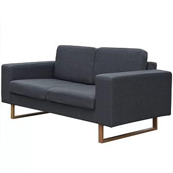 Luckyfu Diseno Moderno Mobiliario Sofas Sofa de 2 Plazas ...