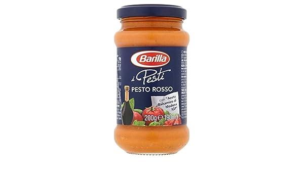 Barilla 190G Pesto Rosso (Paquete de 2): Amazon.es: Alimentación y bebidas