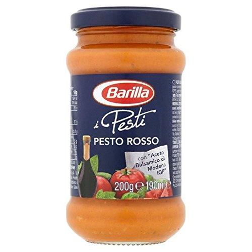 Barilla 190G Pesto Rosso (Paquete de 2)