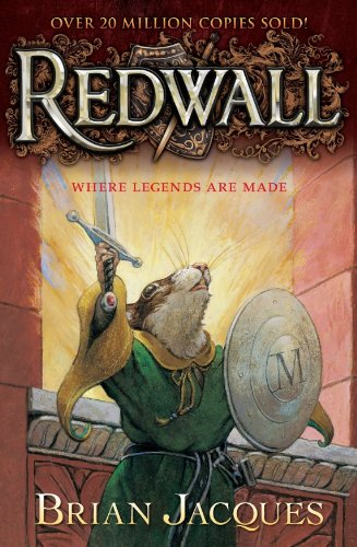 redwall series, brian jacques, author, writer, am reading, adventure books, YA books, battles, epic heroes, must read, warriors, sword, shield, mouse, heroism, goodreads, best reads, book love, storytelling, book nerd, to read, book list, recommended books,
