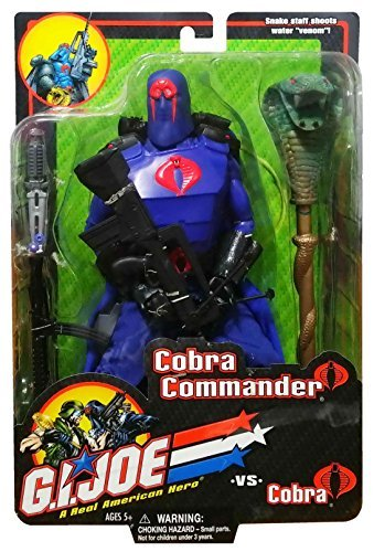 12 inch GI Joe Cobra Commander Action Figure (2001)