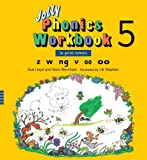 Jolly Phonics Workbook 5 (US Print Letters), Sue Lloyd and Sara Wernham, 1844141020