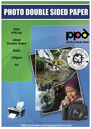 PPD Inkjet Satin Double Sided Brochure Paper A4 (8.27x11.69