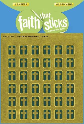 (Foil Cross Miniatures (Faith That Sticks)