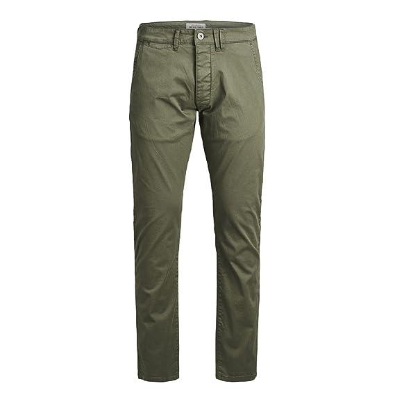 b7ae04746f2d5 Jack and Jones Jjbolton Pantalon Homme Vert  Amazon.fr  Vêtements et  accessoires