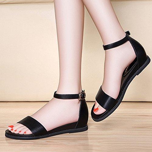 UE alti Sandali alto sandali Donna tacchi black RUGAI tacco BqSRvwRd