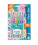 Paper Mate Flair Felt Tip Pens, Ultra Fine Point, Limited Edition Candy Pop Pack, 6 Count