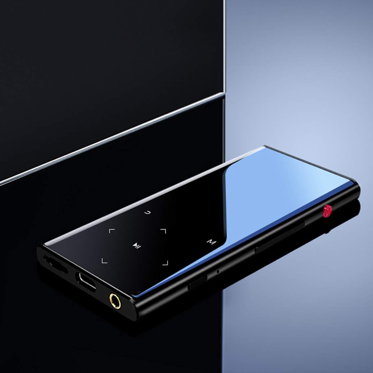 Touch Screen TFT da 8 GB senza perdita di 8 GB da 2,4 Registratore vocale Lettori MP4 con altoparlante Espandibile fino a 64 GB Radio FM da ORIVER Lettori MP3 con Bluetooth 4.1