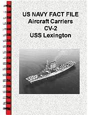 US NAVY FACT FILE Aircraft Carriers CV-2 USS Lexington