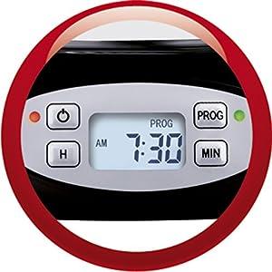 Moulinex FG362810 Cafetière Subito Programmable Inox/Noir