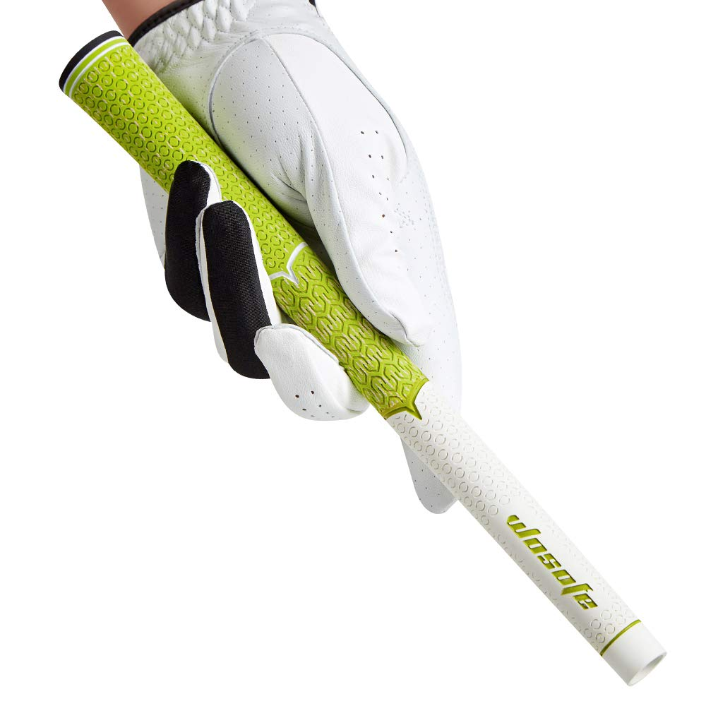 wosofe Golf Grips-Golf Club Grips for Men Golf Iron Grip Set Soft Non-Slip Wear Resistant Rubber Golf Grips (Green/1pcs) by wosofe (Image #4)