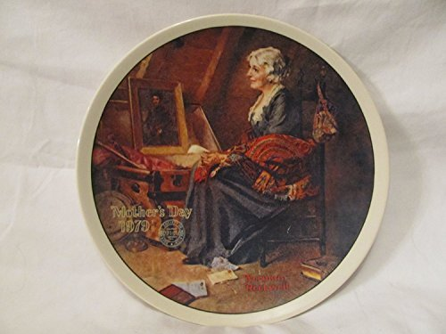 Norman Rockwell 1979 Mother's Day Collector Plate - Collector Edwin Plates Knowles M