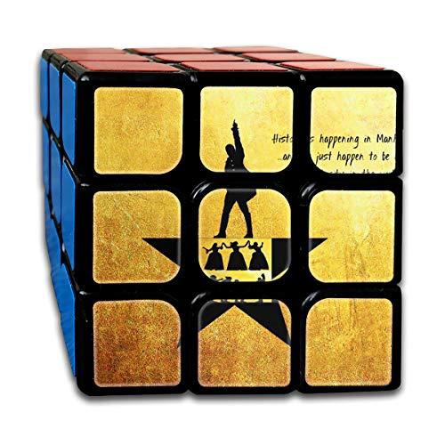 MyLoire Alexander Lin Manuel-Miranda Hamilton 3x3 Magic Speed Cube Smooth Speed Magic Rubik Cube Puzzles Toys