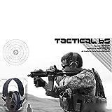 Xander TAC 6s Anti-Noise Tactical Headset Foldable Soft Padded Shooting Sport Hunting Earmuff Headphone (Army Green)