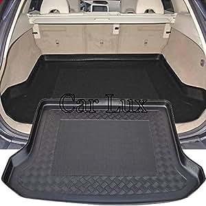 Car Lux AR00405 - Alfombra Cubeta Protector cubre maletero a medida con antideslizante
