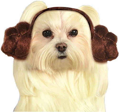Rubie's Star Wars Princess Leia Buns Dog Headpiece -