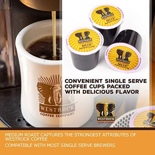 Westrock Coffee Company Meza Morning Blend Best Medium Roast Gourmet Single Serve Cup 80 Count by Westrock Coffee Company (Image #2)