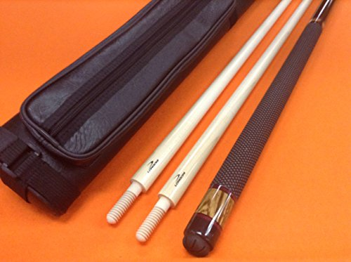 LONGONI CAROM CUE COPENHAGEN WITH 2 SHAFTS & CASE by LONGONI