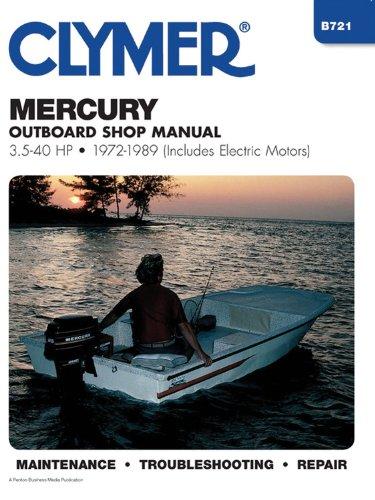 Mercury 3.5-40 HP OB 72-1989 (Includes Electric Motors)