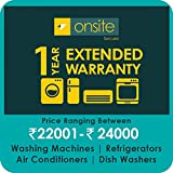 Onsite 1-year extended warranty for Large Appliance (Rs. 22001 to < 24000)