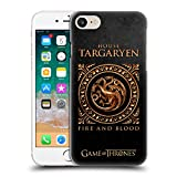 Official HBO Game of Thrones Targaryen Metallic Sigils Hard Back Case for Apple iPhone 7 / iPhone 8